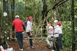 Sobrevicência na Selva - Escola Voar